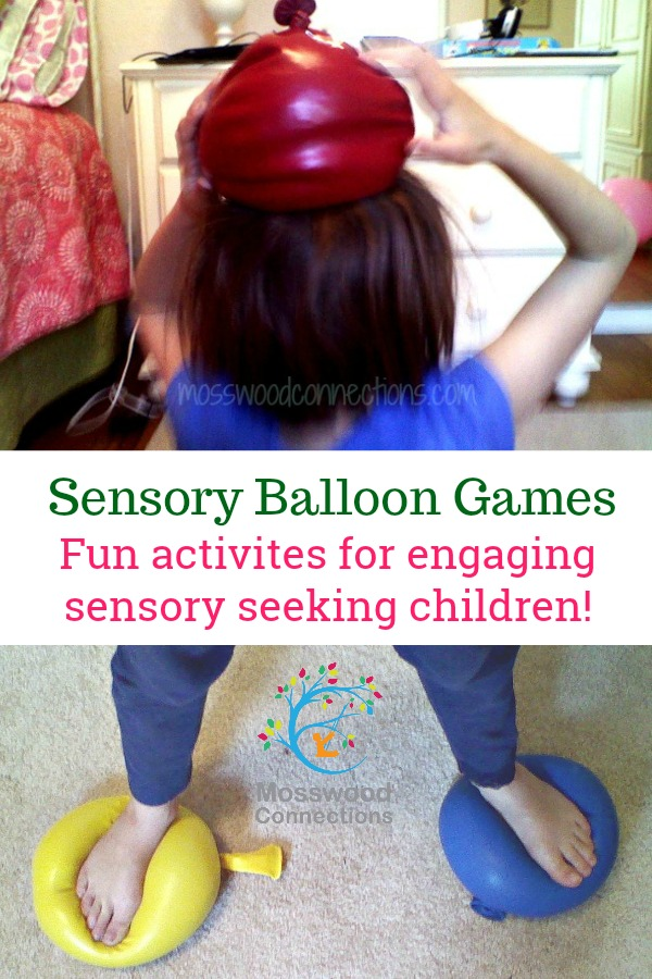 SENSORY BALLOON GAMES #mosswoodconnections #sensory #autism #SPD