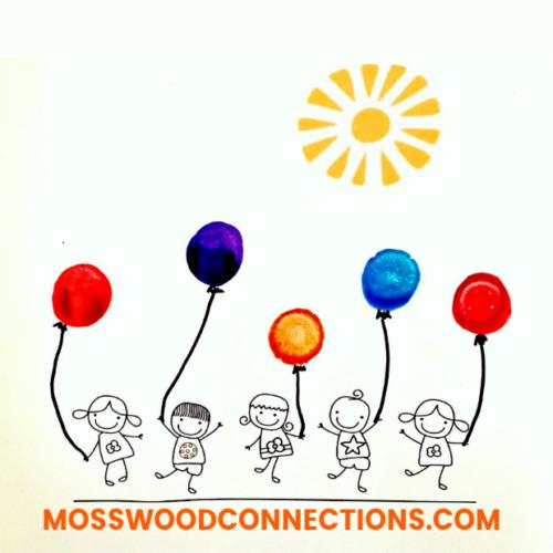 Sticker and Dot Markers Fine Motor Art Project #mosswoodconnections #pincergrip #keepthekidsbusy #finemotor #dotmarkers #stickerfun