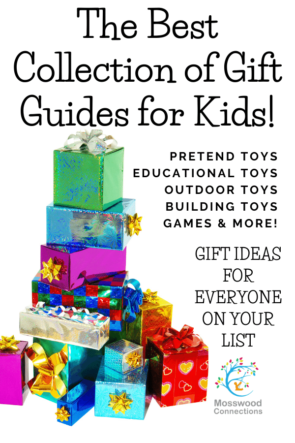 Gift Ideas for Kids: Find the Perfect Gift for Every Child, a collection of gift guides for kids  #mosswoodconnections #giftguides #teens #tweens #activetoys #holidays