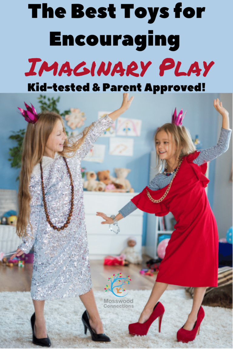The Best Gift Guide for Imaginary Play #imaginaryplay #pretend #mosswoodconnections #giftguide