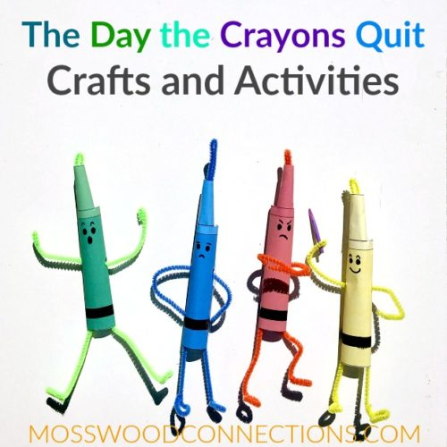 The Day the Crayons Quit Picture Book Activities