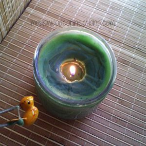 DIY Treasure Candle #Craftsforolderkids #mosswoodconnections #DIYcandle #kidmadegift