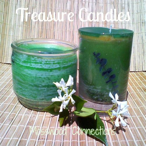 DIY Treasure Candle #Craftsforolderkids #mosswoodconnections #DIYcandle #kidmadegift