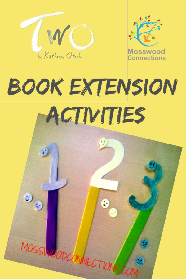 Two by Kathryn Otoshi – Picture Book Activities: #picturebooks #mosswoodconnections #literacy