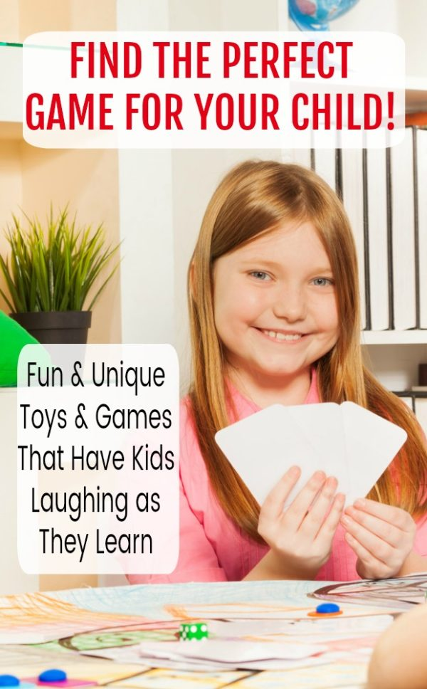 Unusual and Unique Toys and Games That the Kids Will Love! #mosswoodconnections #education #learningthroughplay #giftguide