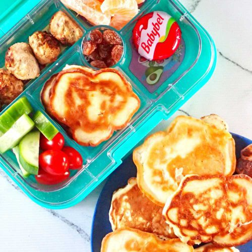 5 ingredient pineapple pikelets Fun and healthy Snacks for Kids
