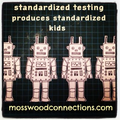 Standardized Testing #mosswoodconnections