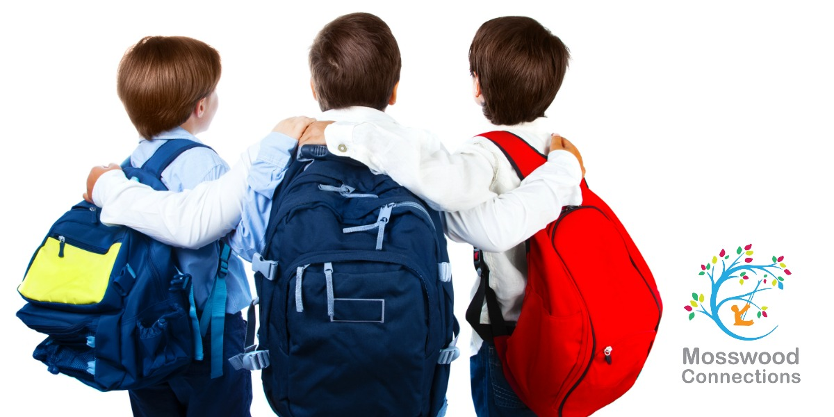 Getting Ready to go Back to School by Shopping and Focusing on Friends #mosswoodconnections #parenting #autism