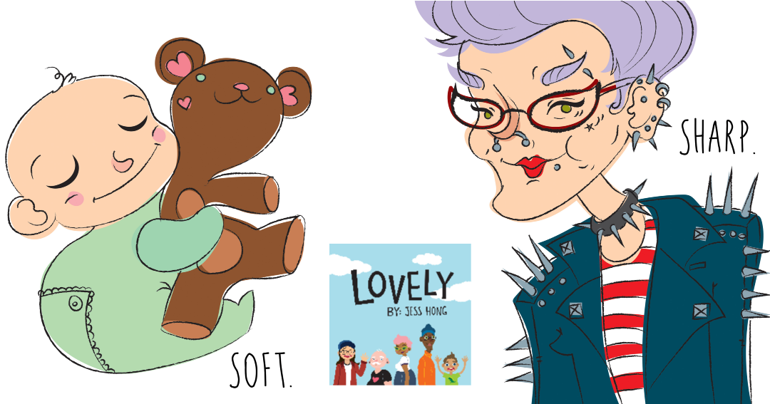 Books that Teach About Diversity - Lovely by Jess Hong Curriculum Guide