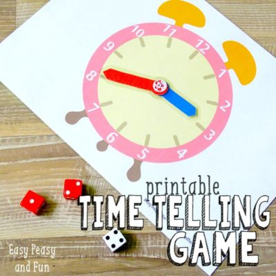 Best Telling Time Activities - Teach Children How to Tell Time #mosswoodconnections #tellingtime #parenting  #homeschooling
