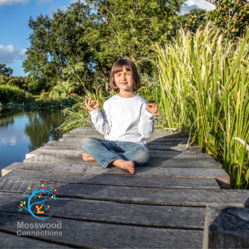 Mindfulness for Kids in their Everyday Routine #mosswoodconnections #mindfulness #parenting