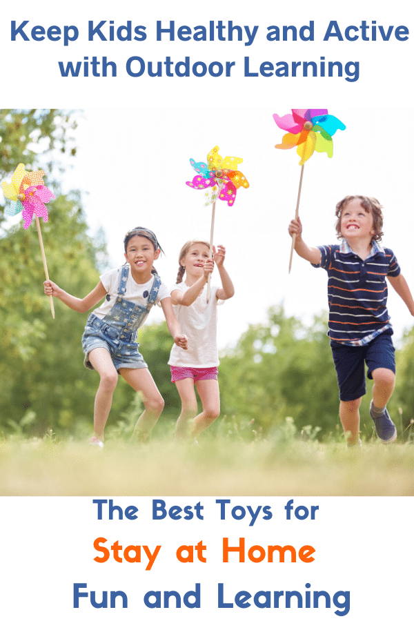 The Best Active Toys for Outdoor Fun and Learning: Discover outrageously fun outdoor toys for kids! #mosswoodconnections #summerfun #outdoortoys #giftguide