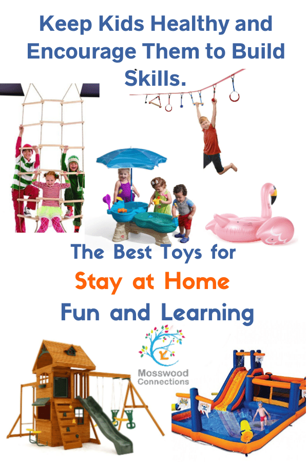 The Best Active Toys for Summer Fun and Learning: Discover outrageously fun outdoor toys for kids! #mosswoodconnections #summerfun #outdoortoys #giftguide