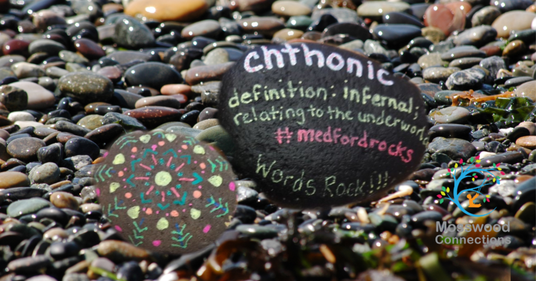 Vocabulary Rocks- Turn Rock Painting into a Vocabulary Game #mosswoodconnections #rockpainting - #processart #abstractart #parenting #mosswoodconnections