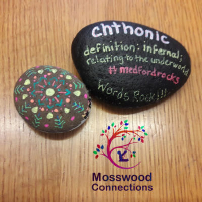Vocabulary Rocks- Turn Rock Painting into a Vocabulary Game #mosswoodconnections #rockpainting #vocabulary #educational #artproject