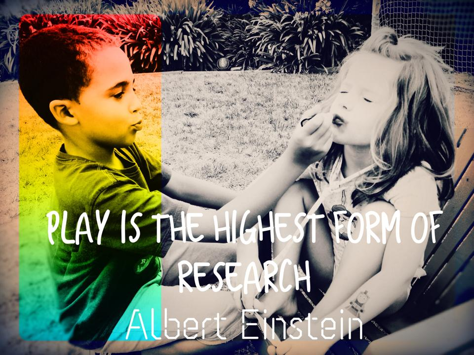 Play is the Highest Form of Research #mosswoodconnections