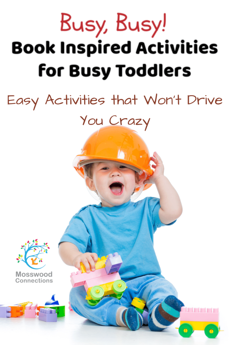 Book Inspired Easy Toddler Activities that won't Drive You Crazy #mosswoodconnections #picturebooks #toddlers #activitiesfortoddlers #freeprintables #coloringpage #bookunit