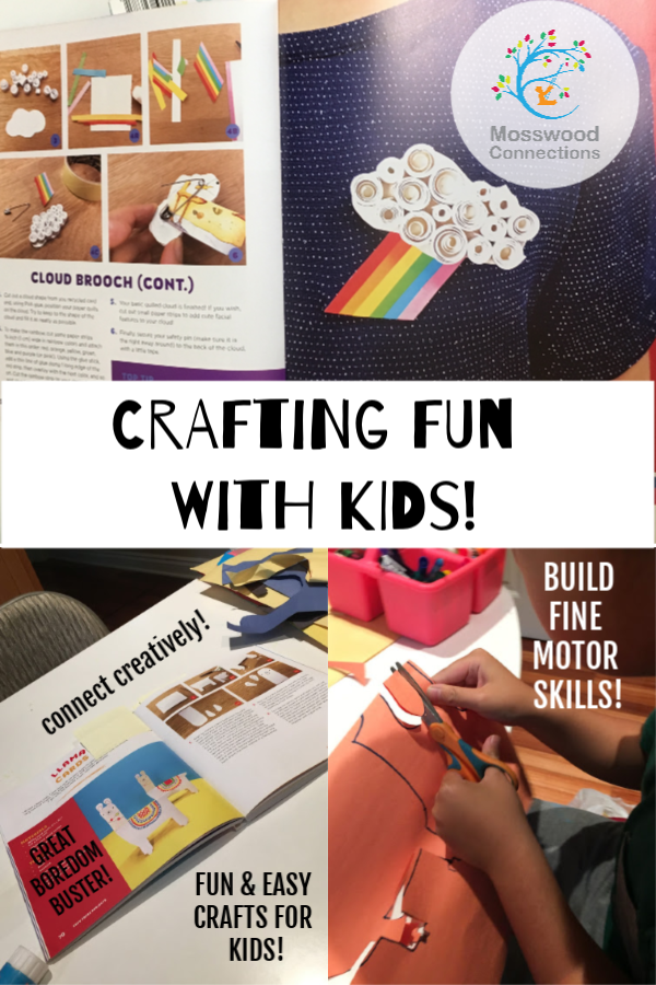 Easy Paper Projects: 60 Crafts You Can Wear, Gift, Use and Admire #mosswoodconnections #bookreview #craftsforkids #papercrafts