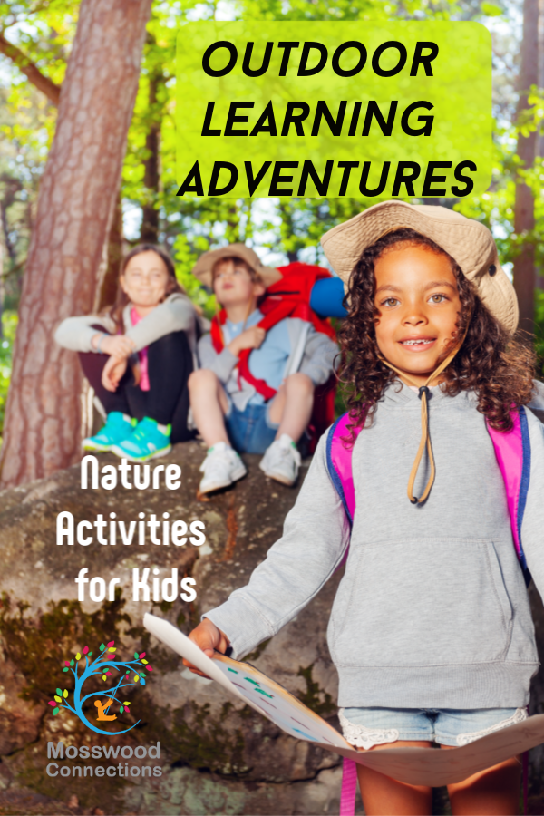 Forest Lessons_ Learning from Nature Activities Sit Spot #mosswoodconnections #natureactivities #naturescience #forestschool #outdoorlearningactivities #educational #forestactivities