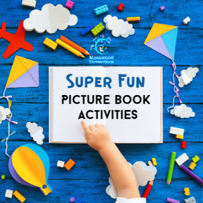 Picture Books Lesson Plans & Extension Activities for Over a Dozen Popular Picture Books - Super Fun Picture Book Activities #mosswoodconnections