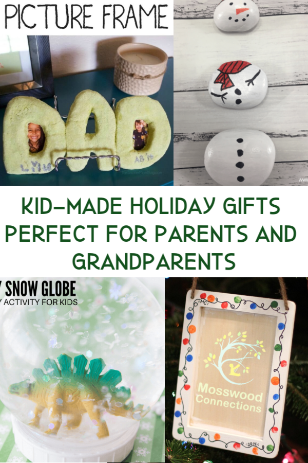Easy and Beautiful Kid-Made Holiday Gifts Perfect for Parents and Grandparents #mosswoodconnections #Craftsforkids #mosswoodconnections #kidmadegift