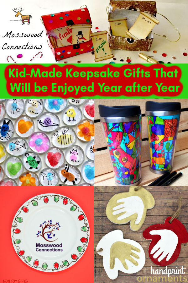 Kid-Made Keepsake Holiday Gifts That Will be Enjoyed Year after Year #holidays #Craftsforkids #mosswoodconnections #kidmadegift