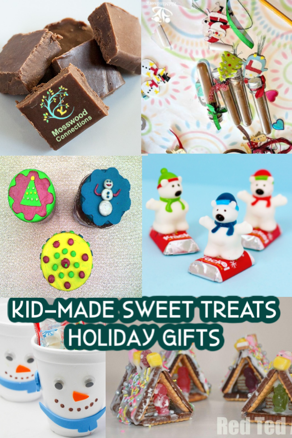 Sweet Treats Kid-Made Holiday Gifts that People Will Love to Receive #holidays #Craftsforkids #mosswoodconnections #kidmadegift