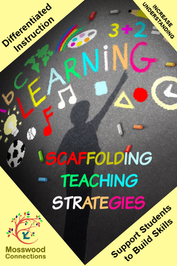 How to Use Scaffolding Learning Strategies #mosswoodconnections #instructionalscaffolding #visualaids #acadmicsupport #differentiatedinstruction