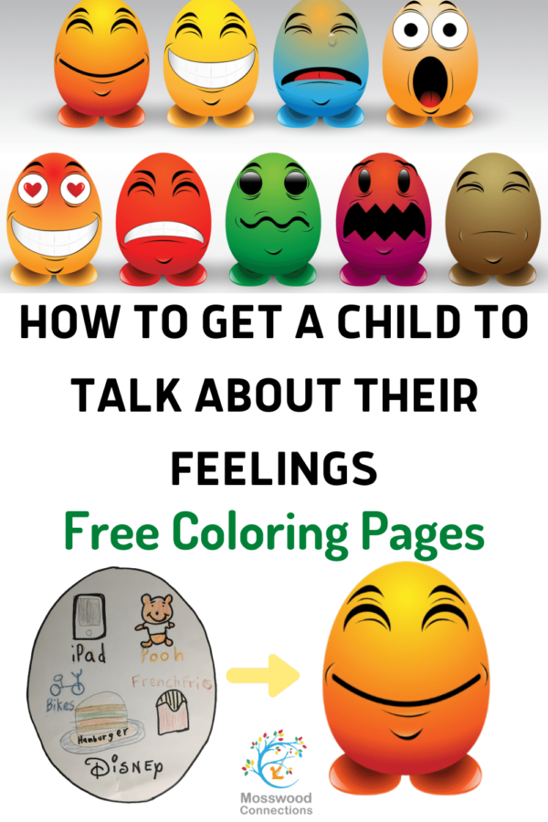 A Free Printable Activity to Explore Feelings from the Outside In #mosswoodconnections #selfreflection #emotionalregulation #socialemotional