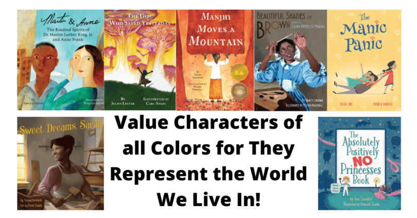 Value Characters of all Colors for They Represent the World We Live In! (1)